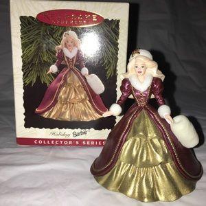 1996 Hallmark Holiday Barbie Keepsake Ornament